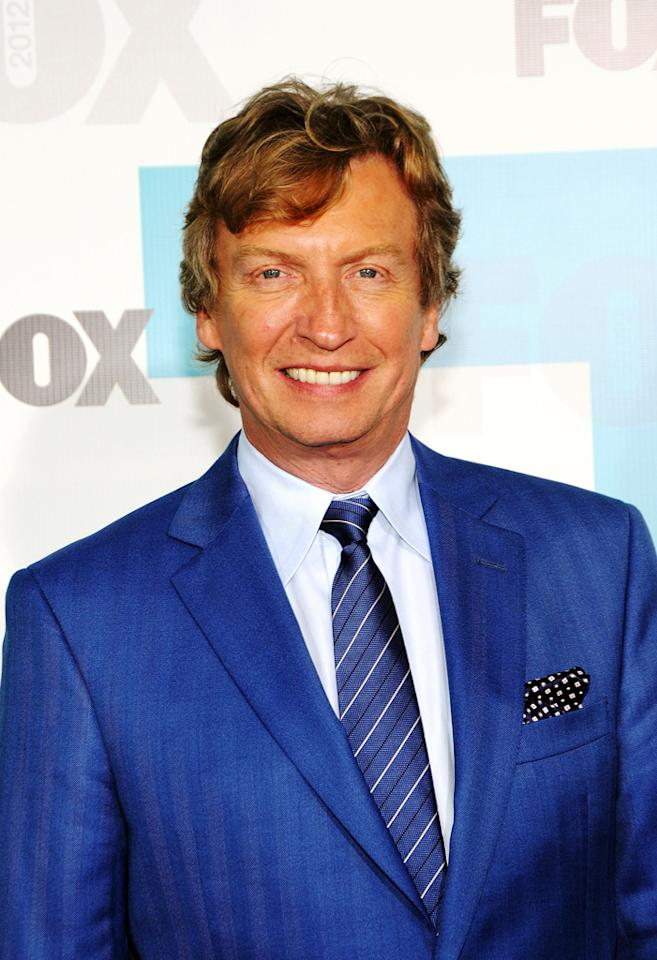 """Nigel Lythgoe (""""So You Think You Can Dance"""") attends the Fox 2012 Upfronts Post-Show Party on May 14, 2012 in New York City."""