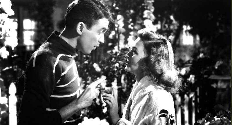 Movie still from 'It's a Wonderful Life'
