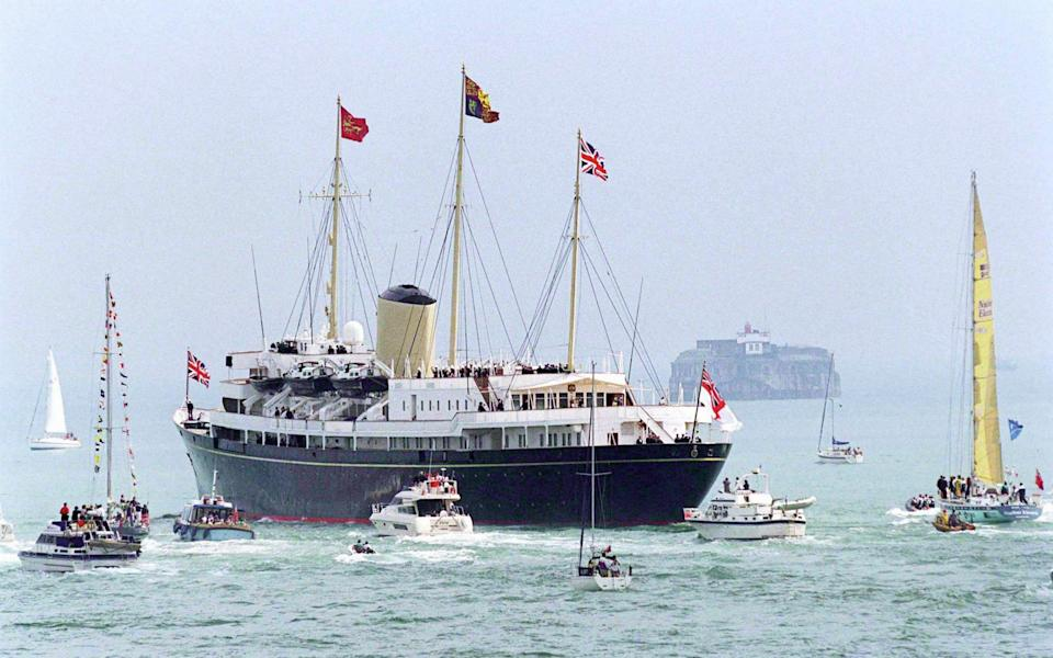 The original Britannia was decommissioned by Tony Blair's Government in 1997 - Tim Graham/Via Getty Images
