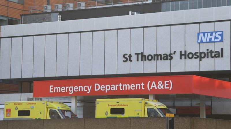 The patient is believed to be being treated at St Thomas HospitalMore
