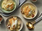 """<p>You've never had <a href=""""https://www.myrecipes.com/course/dessert-recipes/best-banana-pudding-recipes"""" rel=""""nofollow noopener"""" target=""""_blank"""" data-ylk=""""slk:homemade banana pudding"""" class=""""link rapid-noclick-resp"""">homemade banana pudding</a> like this before. It's a simple, from-scratch dessert that'll leave your guests speechless: homemade vanilla pudding layered with vanilla wafer cookies and banana slices and topped with a cloud of meringue. Some like it warm. Others prefer it nice and cold. The hardest part is waiting for it to fully chill.</p>"""