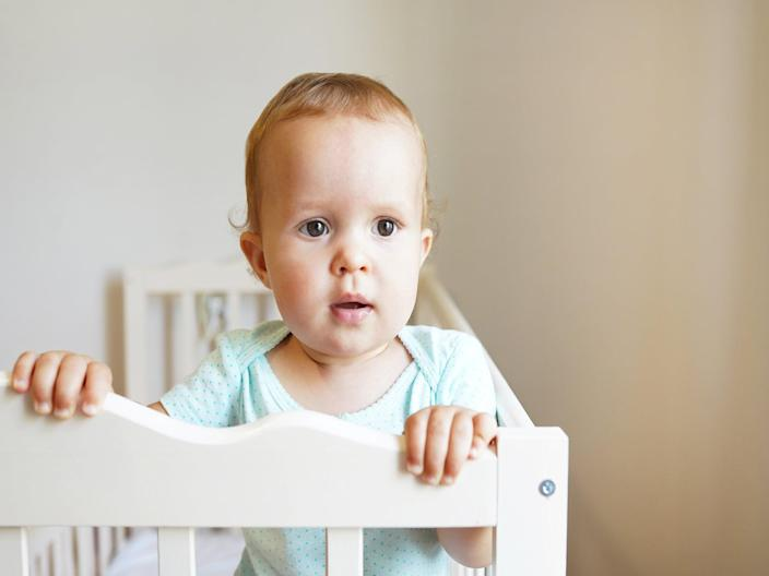 Getting a cotbed will mean your baby can use it for longer. As they get bigger, you can lower the mattress so they can't climb outiStock