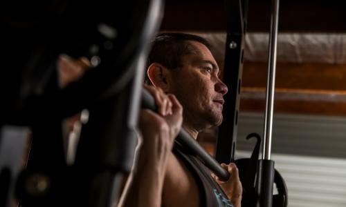 Bodybuilding blind: 'Anything's possible with a bit of ingenuity'