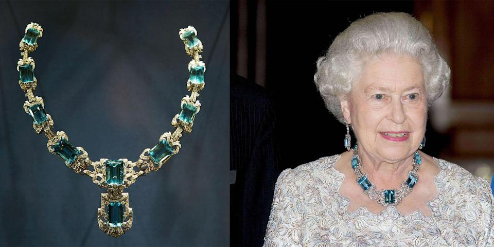<p>It's no surprise that in a monarchy over 1,200 years old, Queen Elizabeth would have inherited some extraordinary and priceless pieces of jewelry. While some of her treasures were specially made for her, others were passed through a long line of British monarchs or gifted to her. Here's a peek inside Her Royal Highness's peerless jewelry box.</p>
