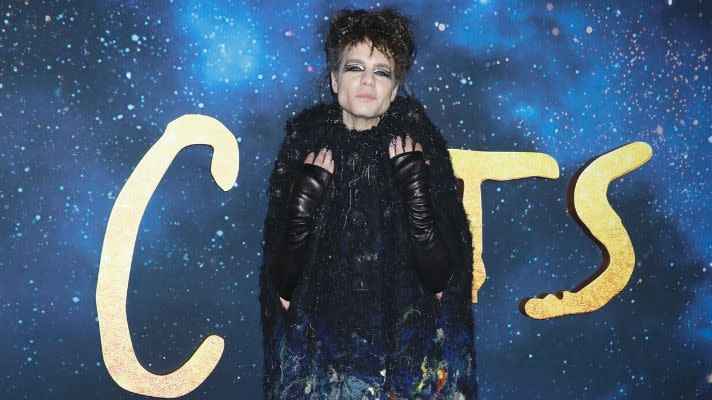 "Two Paws Down—I Spotted Just One Non-Basic Cat Eye at the ""Cats"" Premiere"