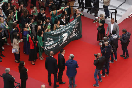"72nd Cannes Film Festival - Screening of the documentary film ""Que Sea Ley"" (Let it be law) presented as part of special screenings"