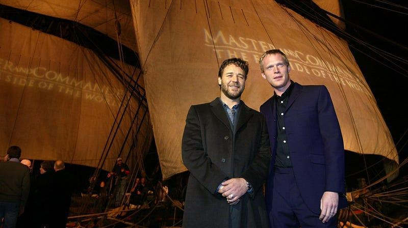 Russell Crowe and Paul Bettany