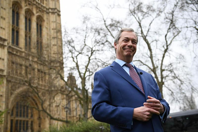 Nigel Farage: Not standing: AFP/Getty Images