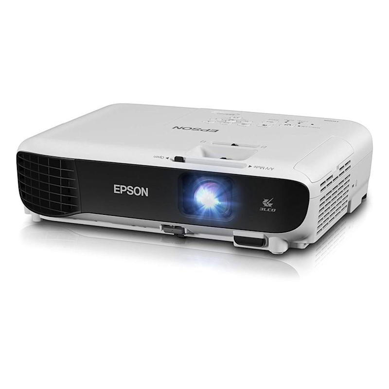 Epson projector.
