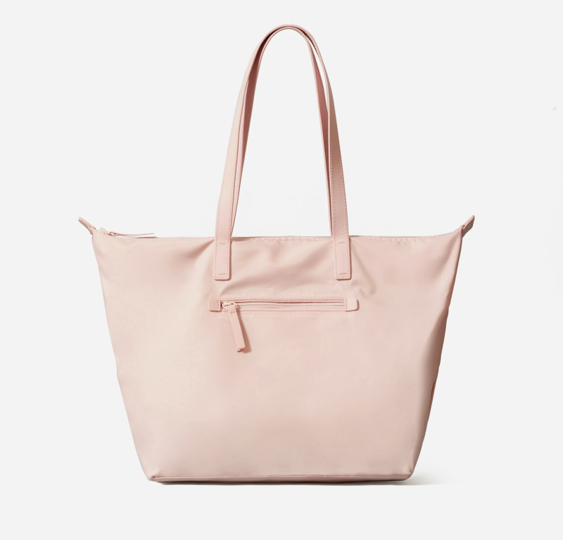 The ReNew Traveler Tote in Pale Pink