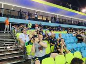 Overview of crowds at grandstand. (PHOTO: Yahoo Lifestyle Singapore)