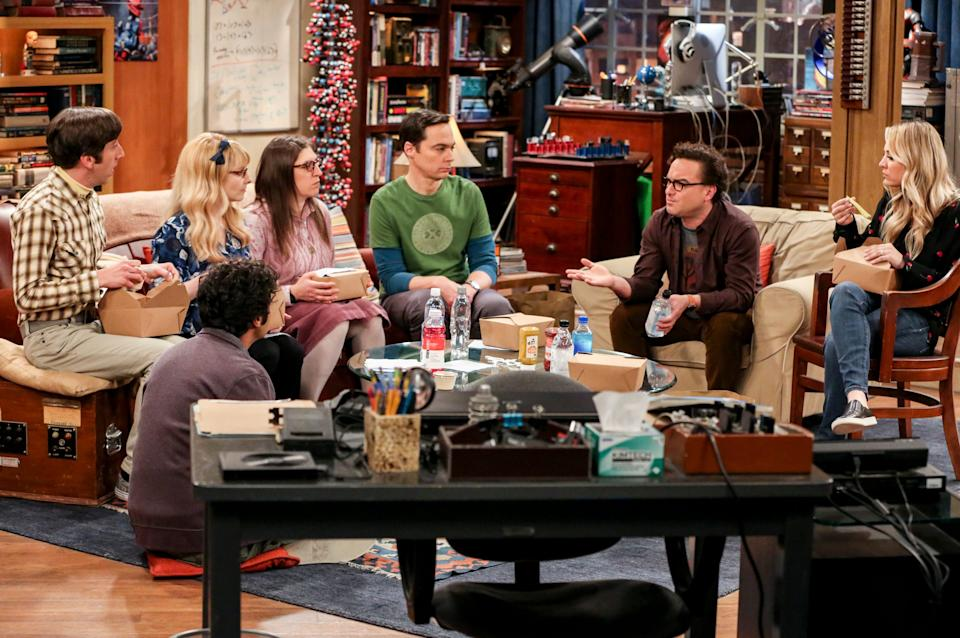 """Over a year after the finale of the long-running sitcom """"The Big Bang Theory,""""Mayim Bialik is still working with a few of her co-stars."""