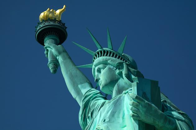 The Statue of Liberty earned the title of world's most popular landmark. (iStock)