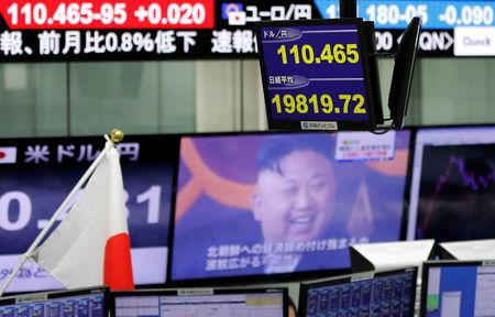 Markets are shrugging off North Korea's latest missile launch