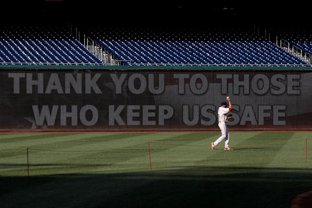 <p>Rep. Ryan Costello (R-PA) practices prior to the Congressional Baseball Game at Nationals Park in Washington, June 15, 2017. (Photo: Joshua Roberts/Reuters) </p>