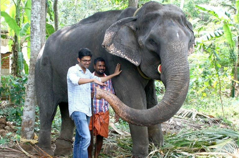 "Awarded the title of ""Gaja Muthassi"" (elephant granny), Dakshayani took part in temple rituals and processions for decades"