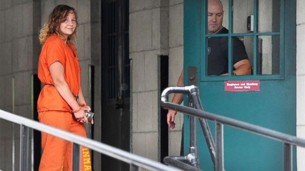 PHOTO: Reality Winner arrives at a courthouse in Augusta, Ga., Aug. 23, 2018, after she pleaded guilty in June to copying a classified U.S. report and mailing it to an unidentified news organization. (Michael Holahan/The Augusta Chronicle via AP)