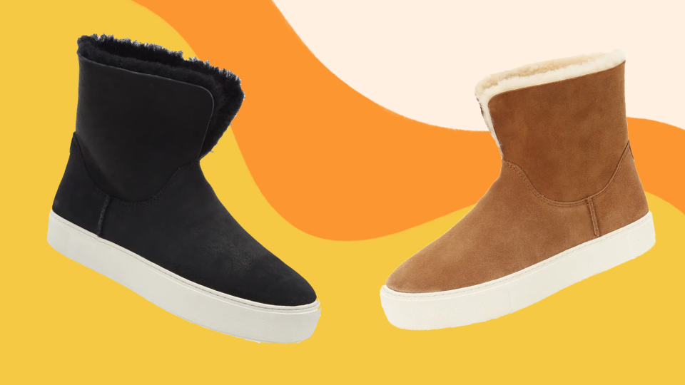 This pair of UGG boots combines comfort and style—and it's on sale at Nordstrom right now.