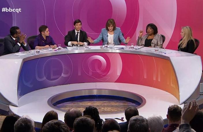 Diane Abbott's treatment on 'Question Time' proves media and politics are entrenched in bias