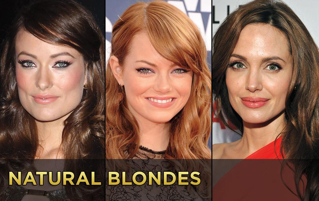 Blondes have more fun, or so they say. But there are a bevy of famous brunettes and redheads who were born blonde. Click ahead to see some stars who traded their flaxen locks for darker hues.