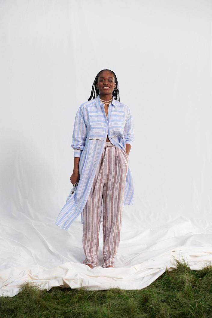 <p>These <span>Pull-on Linen Pants</span> ($35) are the comfiest things you'll want to lounge in all day.</p>