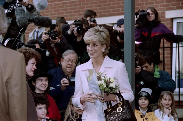 In the drama 'The Crown', Diana is shown as a naive teenager who quickly becomes lonely as Prince Charles' fiancee