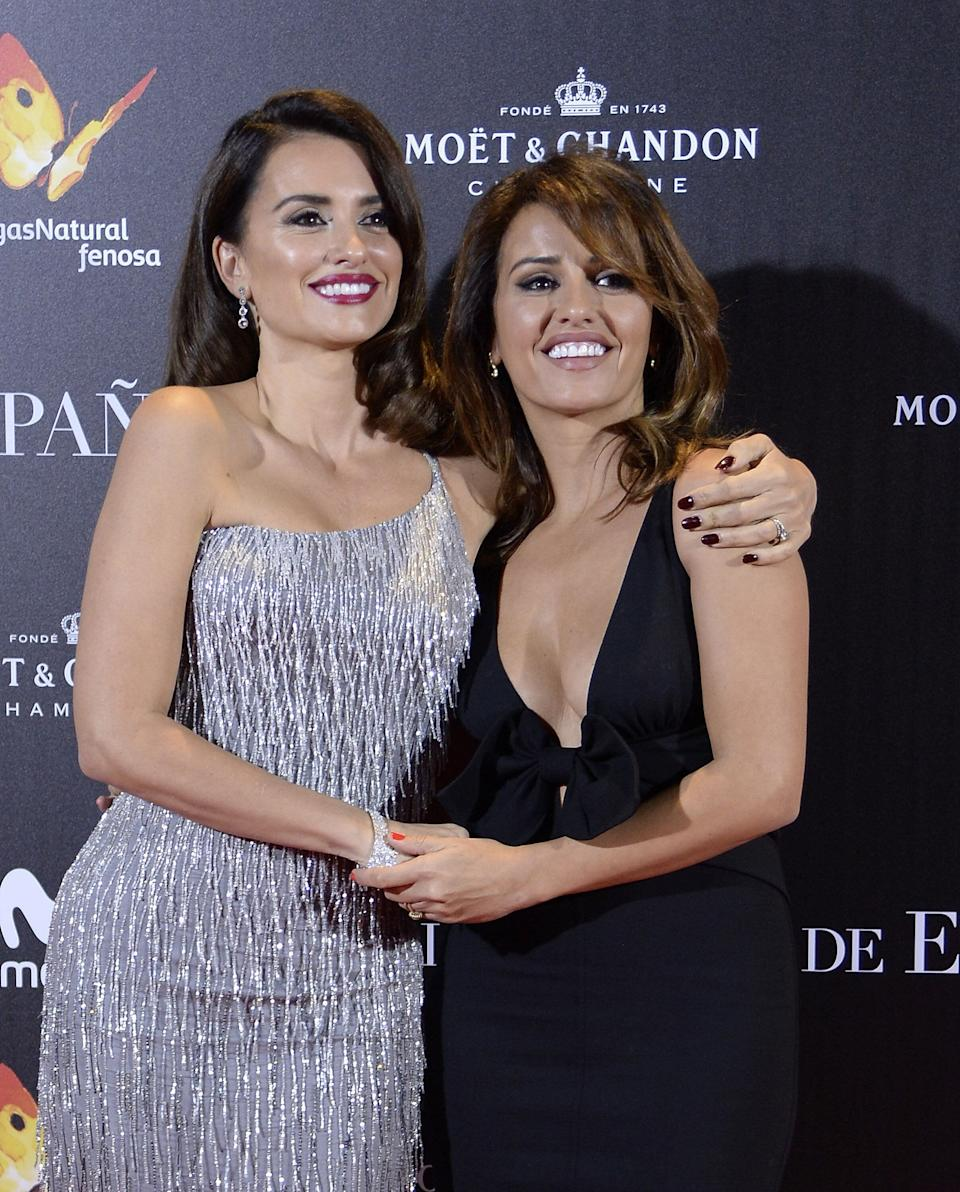 "<a href=""https://www.huffpost.com/topic/penelope-cruz"" target=""_blank"" rel=""noopener noreferrer"">Penelope Cruz</a>'s younger sister, Monica, started her career as a dancer and model but currently has <a href=""https://www.cbsnews.com/pictures/sister-act/8/"" target=""_blank"" rel=""noopener noreferrer"">an acting role</a> in a Spanish TV show."