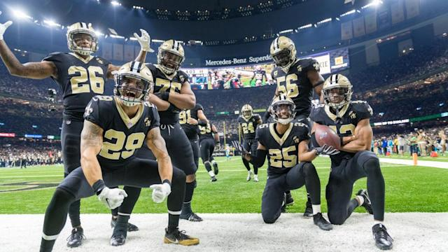Saints favored by 8.5 points over Panthers for Week 12 opening lines