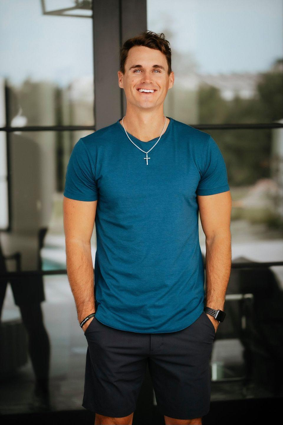 """<p>Mike didn't have to travel far to the <em>Bachelorette</em> set, he's from Arizona. TBD what surprises he may bring. Mike is a former minor league baseball player who now works as a personal trainer.</p><p><strong>Age: 31</strong></p><p><strong>Hometown: Surprise, AZ</strong></p><p><strong>Instagram: <a href=""""https://www.instagram.com/mikeyplaneta/"""" rel=""""nofollow noopener"""" target=""""_blank"""" data-ylk=""""slk:@mikeyplaneta"""" class=""""link rapid-noclick-resp"""">@mikeyplaneta</a></strong></p>"""