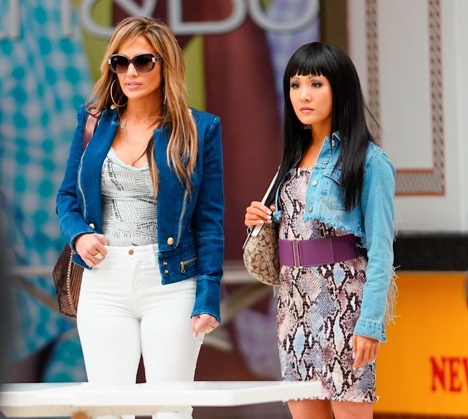 Jennifer Lopez and Constance Wu