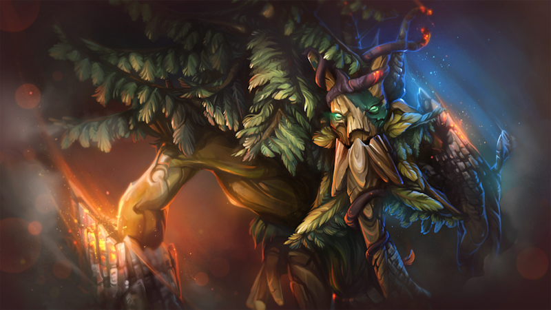 Dota 2 patch 7 05 re-adds Treant to Captain's Mode ahead of