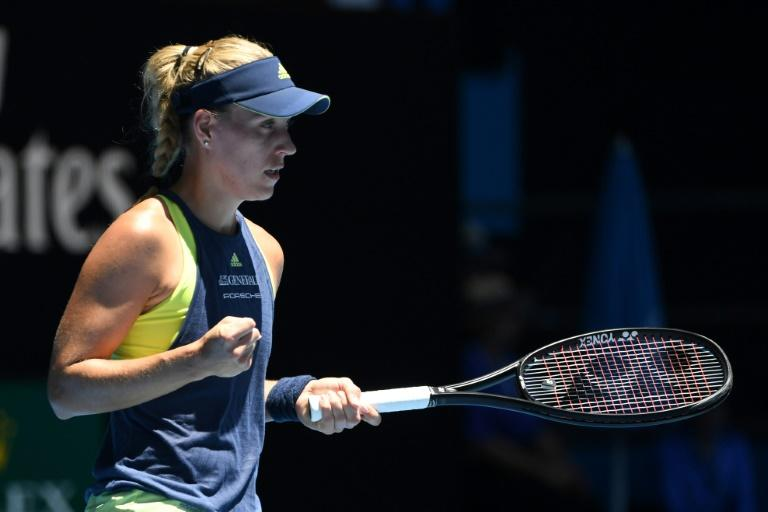 Germany's Angelique Kerber, who won the tournament in 2016, was impressive in dismissing Anna-Lena Friedsam 6-0, 6-4 at the Australian Open
