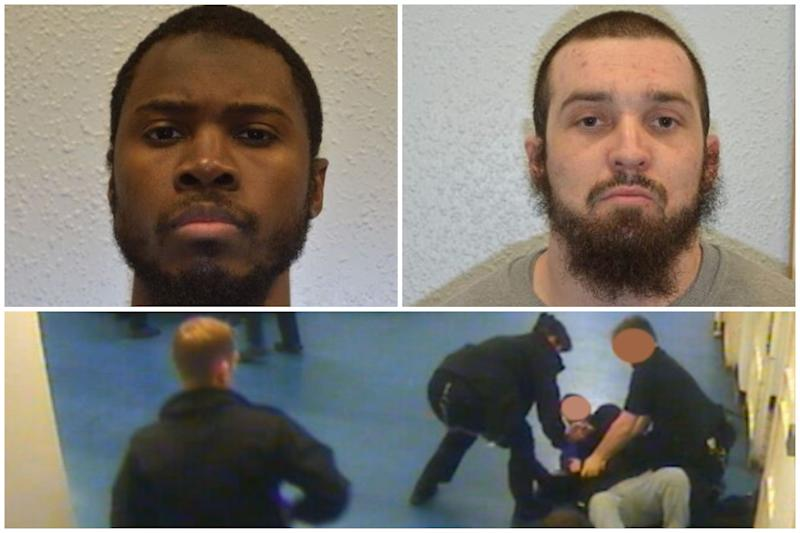 Ziamani, top left, and Hockton, top right, have been sentenced. (PA/Met)