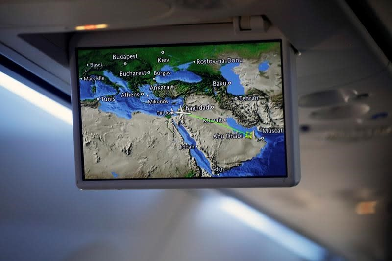 Saudi Arabia says flights to, from UAE can fly over kingdom