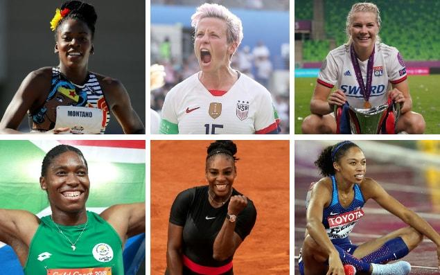Just some of the powerful sportswomen who have been using their platform to make a difference - Getty Images
