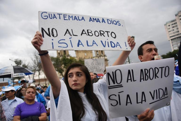 Social attitudes to abortion are very conservative in fiercely religious Guatemala