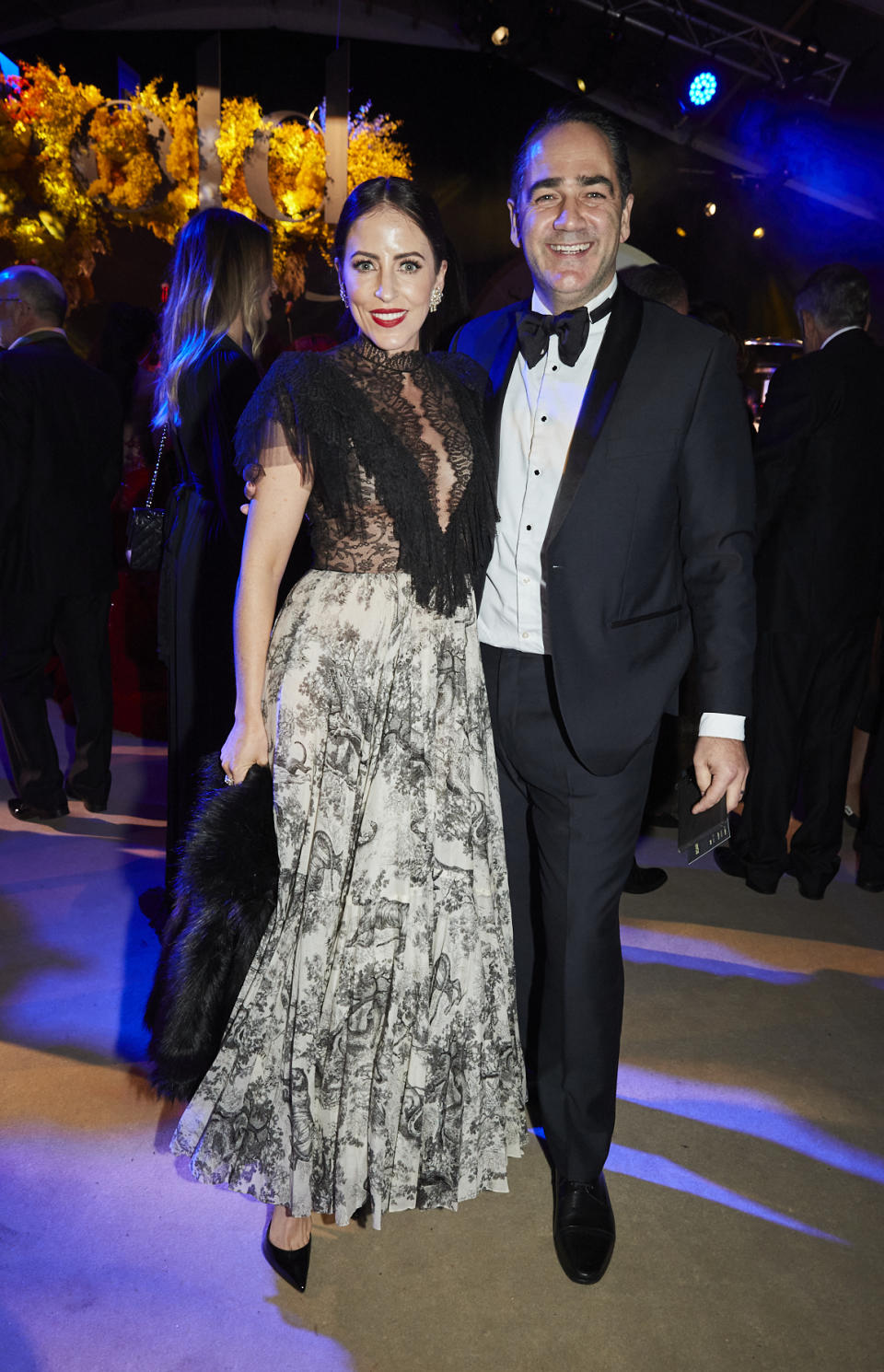 Michael 'Wippa' Wipfli and wife Lisa Wipfli attend Gold Dinner 2021 on June 10, 2021 in Sydney, Australia. Photo: Getty Images.