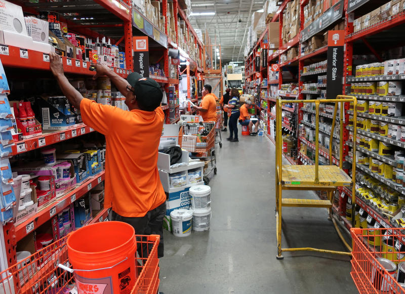 Bad weather, real estate market chill Home Depot's sales