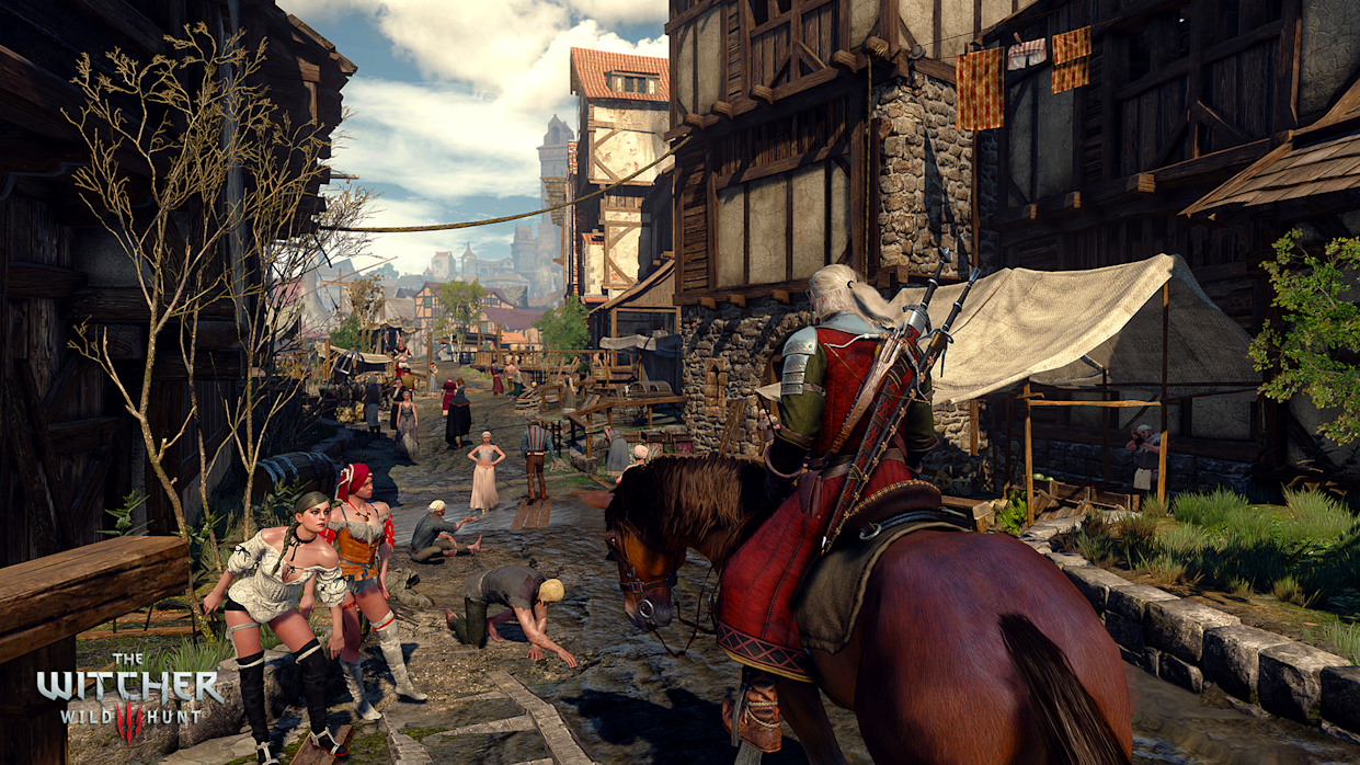 The Witcher 3: Wild Hunt, and the Call of the Sirens