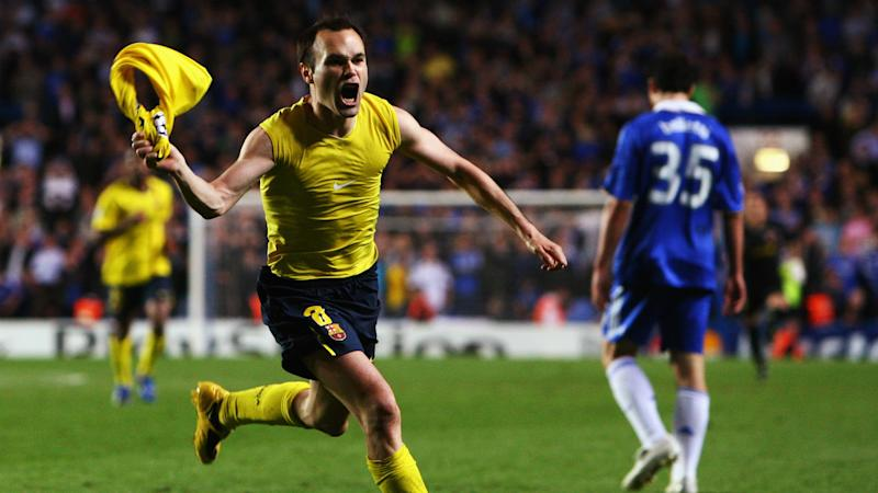 'Has your mother showed you the goal?' - Iniesta calls kids born after iconic Champions League strike