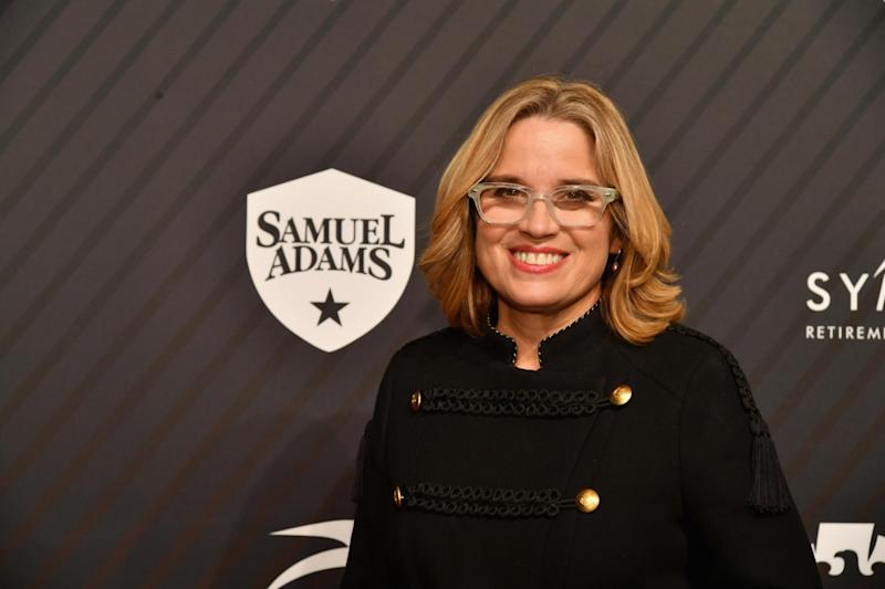 Mayor Carmen Yulin Cruz attends SPORTS ILLUSTRATED 2017 Sportsperson of the Year Show: Slaven Vlasic/Getty Images for Sports Illustrated