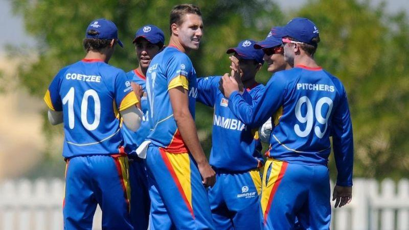 Namibia had played its only World Cup in 2003