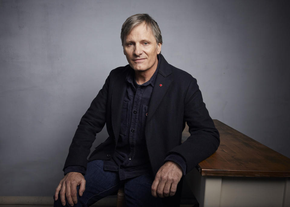 "Writer/director Viggo Mortensen poses for a portrait to promote the film ""Falling"" at the Music Lodge during the Sundance Film Festival on Sunday, Jan. 26, 2020, in Park City, Utah. (Photo by Taylor Jewell/Invision/AP)"