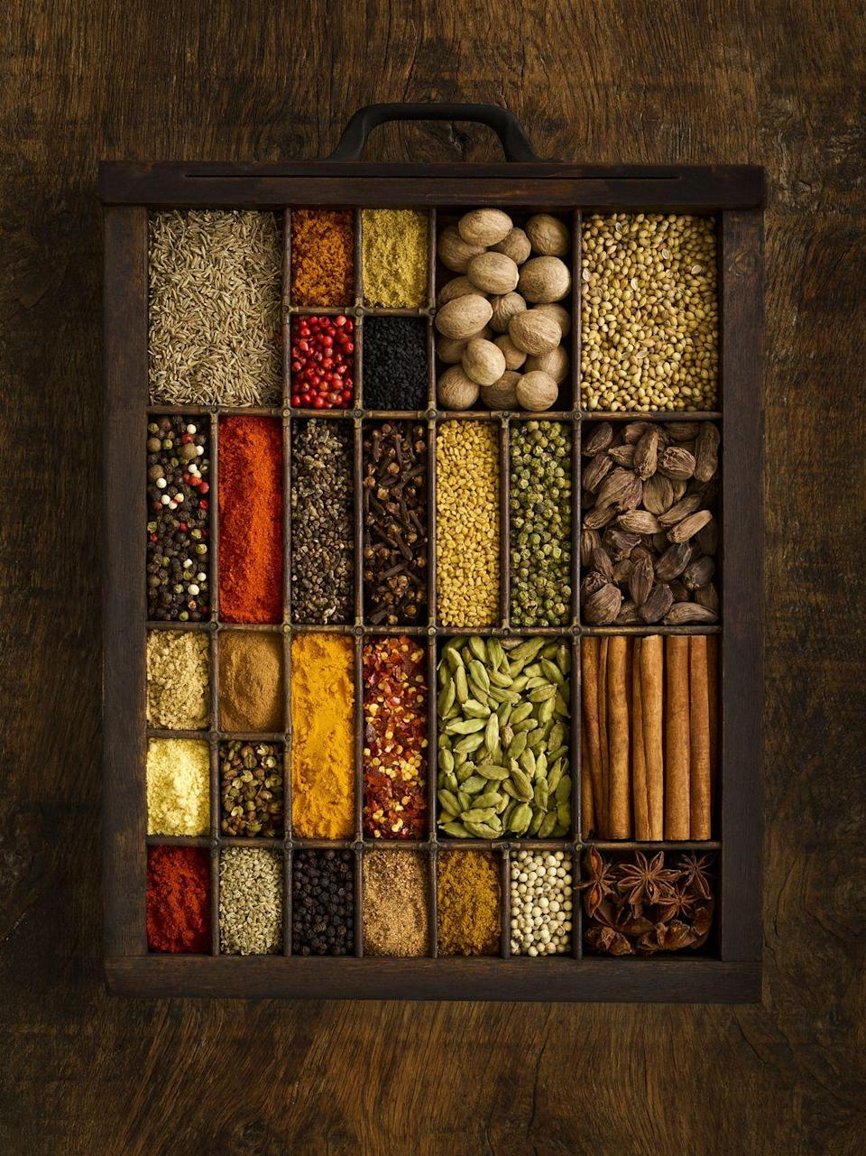 "<p>When it comes to organizing our spices, we all have our preferred methods—but which is best? We asked Chef and Co-Founder of <a href=""https://www.theculinistas.com/"" rel=""nofollow noopener"" target=""_blank"" data-ylk=""slk:The Culinistas"" class=""link rapid-noclick-resp"">The Culinistas</a> Jill Donenfeld. Aspiring Barefoot Contessas, listen up!</p><p> ""I like everything put away so no spice rack for me, but I do label each jar on the top and the side of it and prefer to store them in a pull-out drawer rather than a shelf where the guys in the back could be forgotten,"" Donenfeld says. ""When I want the sumac (often), it's always just there.""</p><p>Thinking through your most commonly used spices, and grouping them together in a thoughtful way, will ensure they are easily accessible and will help you remember which ones need to be added to your next grocery list. </p>"