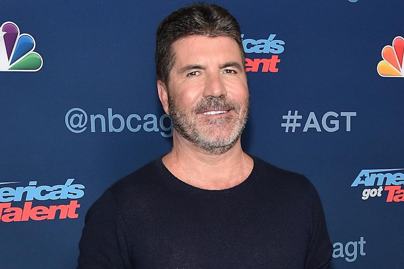 Security: Simon Cowell's home was raided: Mike Windle/Getty