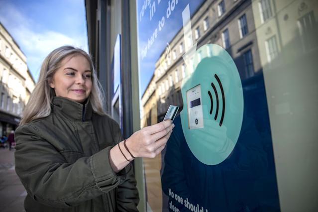It has been installed in Bath, Somerset. [Photo: SWNS]