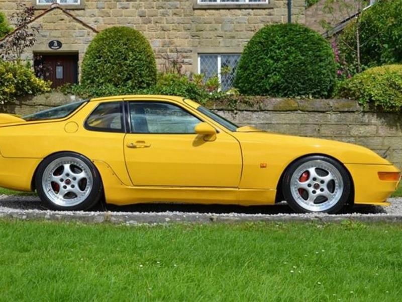 one of four porsche 968 turbo rs for sale in england. Black Bedroom Furniture Sets. Home Design Ideas