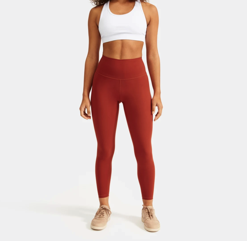 Everlane Perform Legging in Brandy Rose