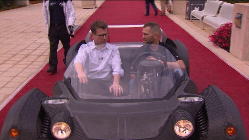 World's first car made by 3-D printer unveiled in Chicago