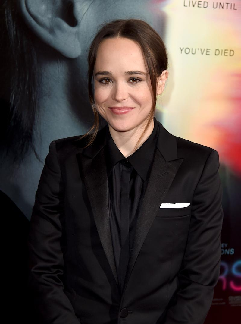 Ellen Page to Star in ... Ellen Page Netflix